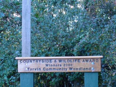 Broomheath Lane Oak Award Sign