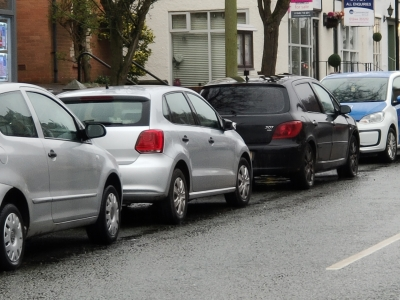 Car Parking on Tarvin High Street
