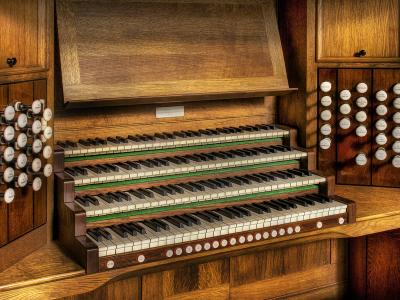 church-organ