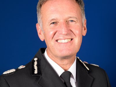 Darren Martland - Chief Constable