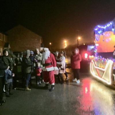 Father Christmas Tarporley Rotary 2016