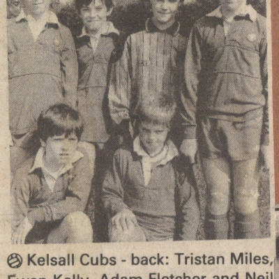 Football Teams 2 Kelsall Cubs