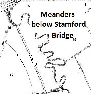 Gowy Meanders Below Stamford Bridge