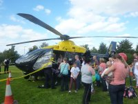Lots of interest in the Police Helecopter
