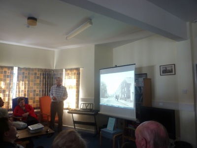 Talk & Slide Show of origins of Tarporley Hospital