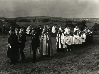 Tarvin - Beating the bounds - 30 June 1968 (1)