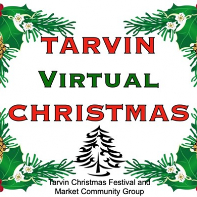 tarvin virtual christmas logo