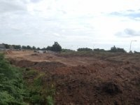 Taylor Wimpey earthmound