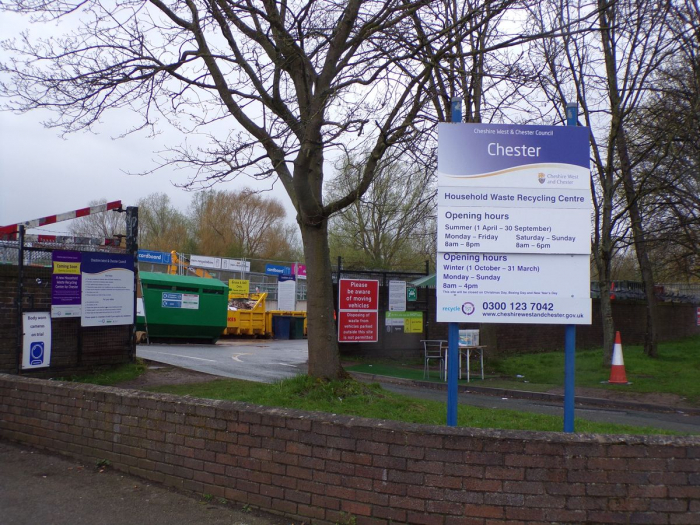 Waste Disposal Site in Chester